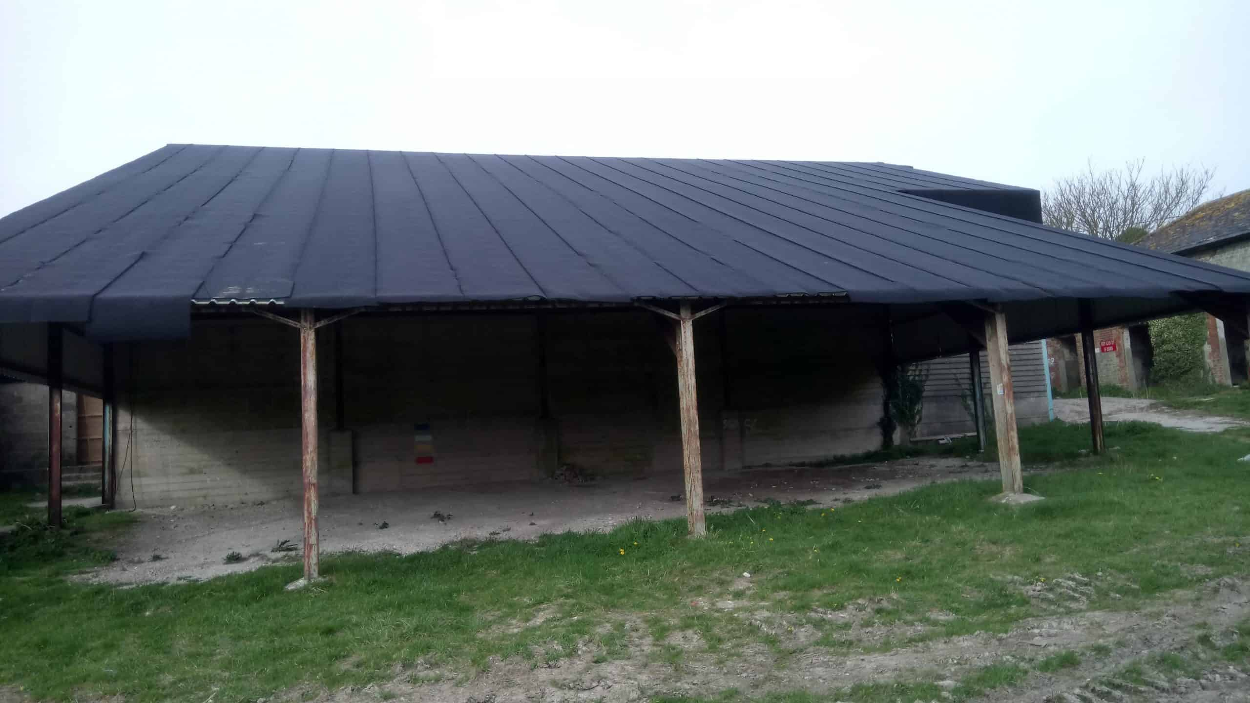 Silent Roof installed on barn used for Sam Mendes '1917' trenches scene shoot