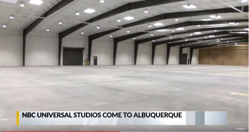 KRGE.com - NBC Universal Studios come to Albuquerque